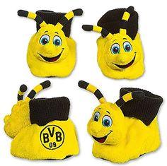Borussia Dortmund Babyschühchen / Baby Schuhe / Shoes - Maskottchen Emma BVB 09 - http://on-line-kaufen.de/borussia-dortmund/borussia-dortmund-babyschuehchen-baby-schuhe-09
