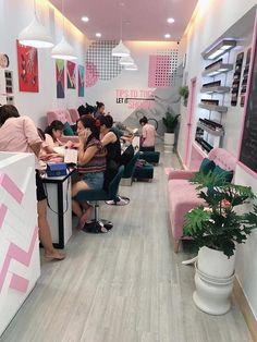 Home Beauty Salon, Beauty Salon Decor, Beauty Salon Design, Beauty Salon Interior, Beauty Studio, Nail Salon Design, Nail Salon Decor, Spa Studio, Nail Studio