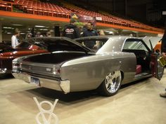 1966 Chevelle SS - 2 | MadWhips grey silver red interior