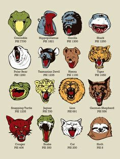 Know Your Chomps 18 x 24 Art Print on the redditgifts Marketplace #redditgifts