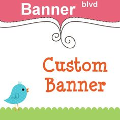 Custom Etsy Shop Banner - One Of A Kind