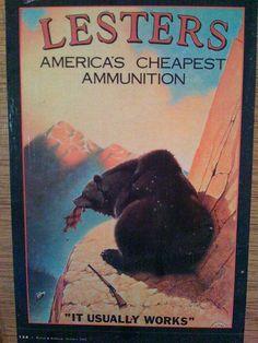 Vintage Gun and Ammo Advertising