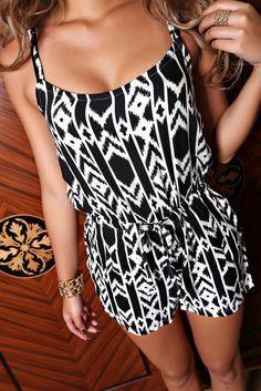 Geometric Pattern Cami Jumpsuit for Women