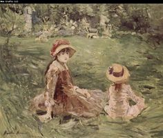 Berthe Morisot In the Moliketer-s garden