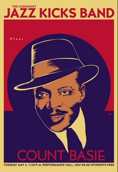 Jazz Poster featuring Count Basie