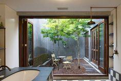 internal courtyard by Franchesca Watson