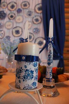 Свадьба в стиле гжель от OnlyWeddings vk.com/onlyweddings_nn