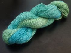 Lady of the sea. This hand dyed yarn is available on Etsy! Painted Silk, Hand Painted, Mohair Yarn, Hand Dyed Yarn, Hand Spinning, Wedding Bridesmaids, Etsy Seller, Hands, Sea