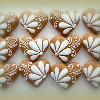 Jídlo a floristika / Zboží | Fler.cz Fancy Cookies, Valentine Cookies, Iced Cookies, Cute Cookies, Easter Cookies, Cookies Et Biscuits, Cupcake Cookies, Christmas Cookies, Christmas Gingerbread