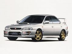 Subaru Impreza WRX STi (1998 – 2000).