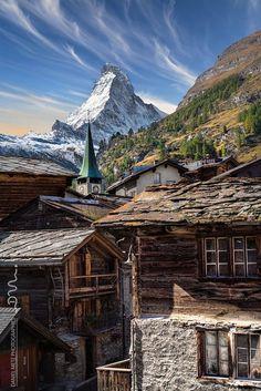 Le vieux Zermatt !