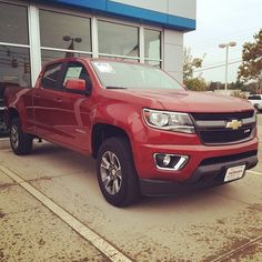 The all new 2015 Chevrolet Colorado is in stock at VanDevere Chevy!