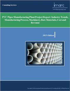 This report provide detailed analysis to establish a PVC pipes manufacturing plant. The report analyses the PVC pipes industry, key manufacturers, plant costs, machinery requirements, requirements and costs involved. For more details visit site : http://www.imarcgroup.com/pvc-pipes-manufacturing-plant/