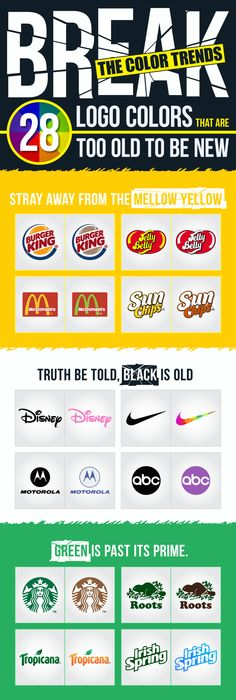 28 Popular Logos Redesigned In New Color Palettes - UltraLinx