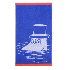 Finlayson Moominpappa Blue Hand Towel Create a cohesive but colorful collection of towels with the Finlayson Moomin Hand Towels. Made of soft and fluffy cotton terry, the Finlayson MoominPappa Blue Hand Towel will dry your hands and t.