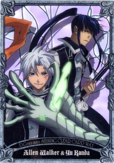 D Gray Man_Trading Card_Shining Clear Card Vol.1_Allen Walker & Yu Kanda