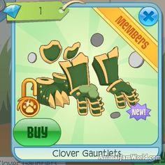 Animal Jam Clover Armor   #AnimalJam #CloverArmor #Items http://www.animaljamworld.com/animal-jam-clover-armor-codes/
