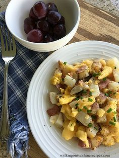 Breakfast Scramble for breakfast this morning from Walking on Sunshine Recipes.