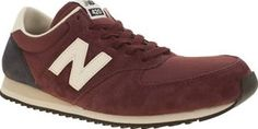 New Balance Burgundy 420 Mens Trainers In need of fresh kicks? Then treat yourself to some retro styling, as the New Balance 420 arrives on the scene. The burgundy suede upper is joined with dark navy and white accents, whilst a supportive http://www.comparestoreprices.co.uk/january-2017-8/new-balance-burgundy-420-mens-trainers.asp