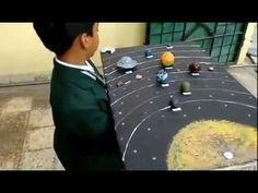How to make Solar System (3D Model) - YouTube