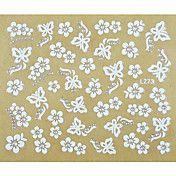 1PCS Butterfly Pattern Style Nail Sticker – USD $ 1.99