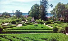 Jardim Botânico da Ajuda em Belém, Lisboa, Portugal
