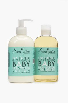 Shea Moisture Olive & Marula Baby Collection