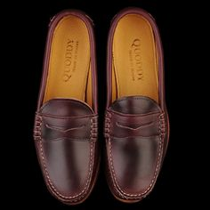 43aa77aa9ab UNIONMADE - quoddy - True Penny Loafer in Cavalier Windsor Wine with  Leather Sole
