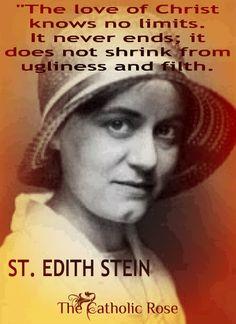 St. Edith Stein...  https://www.facebook.com/TheCatholicRose