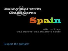 Bobby McFerrin and Chick Corea plays Spain