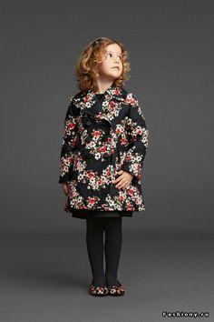 Dolce & Gabbana Bambino осень-зима 2014 / купить ткань дольче габбана