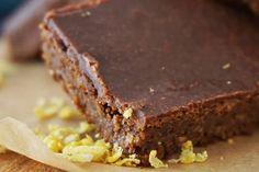 Nyers brownie szederlekvárral