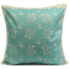 Like and Share if you want this  Branches Pattern Sky Blue  Cushion Cover     Tag a friend who would love this!     FREE Shipping Worldwide     Get it here ---> https://www.cutepillowcases.com/product/branches-pattern-sky-blue-cushion-cover/