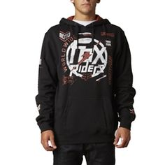 2013 Fox Racing Substantial Pullover Casual Motocross MX Insulated Hoody