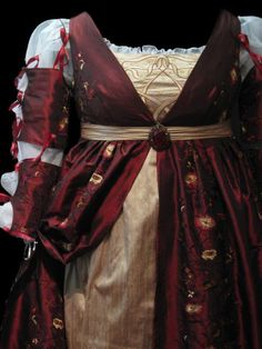 finished italian renaissance gown front detail | Flickr - Photo Sharing!