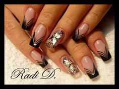 Awesome nail art.. #nails
