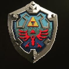 Legend of Zelda perler bead art by unpixable_                              …