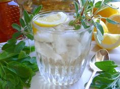 Pineapple Sage Tea - Hot or Iced ... I am thinking an arnold palmer would be delish with this as well