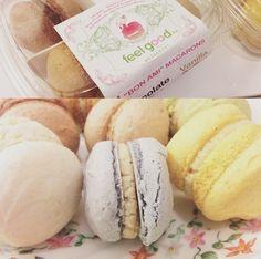 Vegan Macaroons from Feel Good Desserts