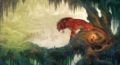 Ancient Forest by KristenPlescow on DeviantArt