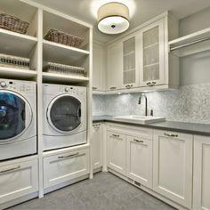 Rockwood Custom Homes, fabulous laundry room