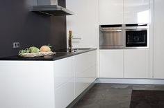 keuken met aluminium detail more google images muur google keuken ...