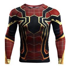 Nice Rashguard - long sleeve: Iron spider-man Infinity War 2018 – Search tags: #2XL #3XL #compressionapparel #compressioncrossfit #compressiongear #compressionlongsleeves #compressionshirt #compressionshirts #compressionworkout #L #M #rashguard2018 #rashguardapparels #rashguardbuy #rashguardcanada