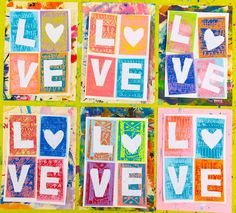 In the Art Room: First Grade LOVE Prints!