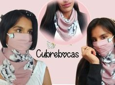 DIY mascarilla con pañoleta con forro y filtro Diy Clothes, Bags, Ideas, Fashion, Fuzzy Slippers, Filter, Modeling, Molde, Tela