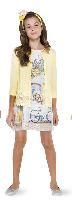 Make a #Happy! A tendência do #Amarelo   #MKids #trendy