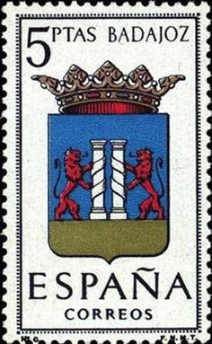 Provincial Arms- Badajoz Country Of Origin, Origins, Postage Stamps, Spain, Arms, Collections, Coats, My Favorite Things, Gallery