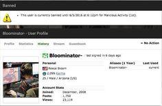 Jogador de 'Counter-Strike' é banido por mil anos por cometer assédio.