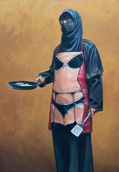 """Banksy ,""""How do you like your eggs""""."""