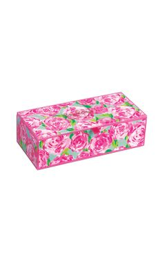 Gifts For Mom - Lilly Pulitzer small glass storage box Home Gifts, Gifts For Mom, Dressing Table Boxes, Birthday Wishlist, Small Storage, Small Boxes, Pink And Green, Lilly Pulitzer, Best Gifts